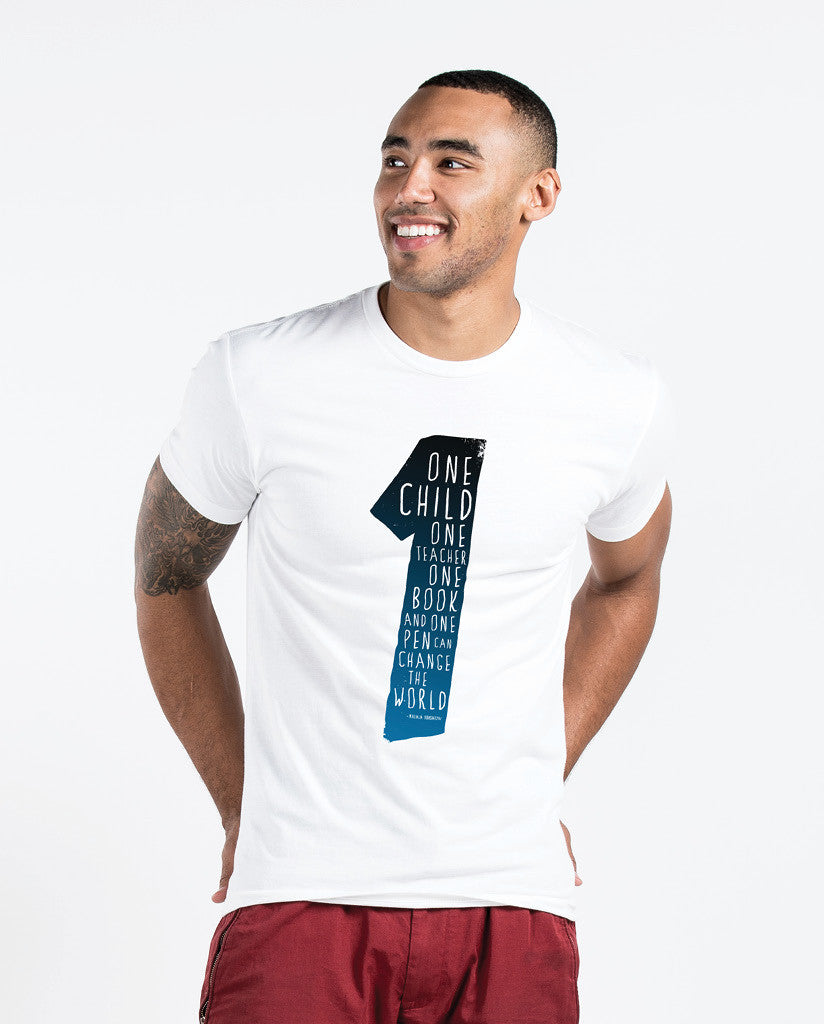 One Teacher Mens Premium Fitted Tee