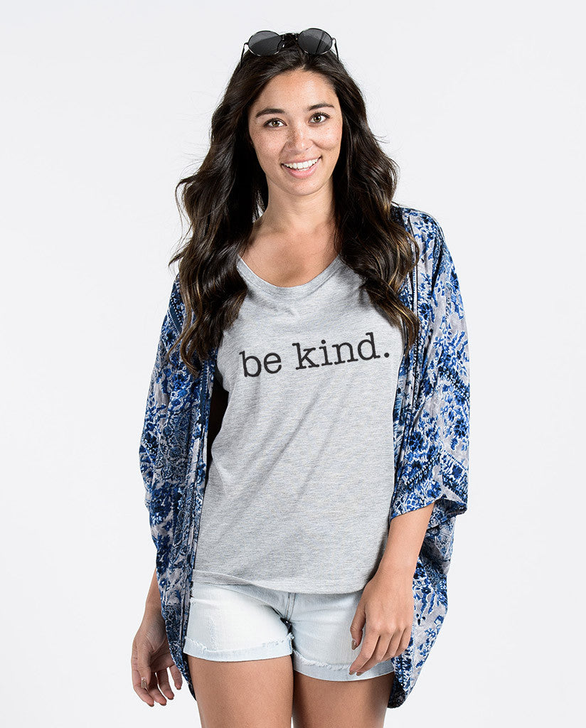 Be Kind. Womens Flowy Dolman