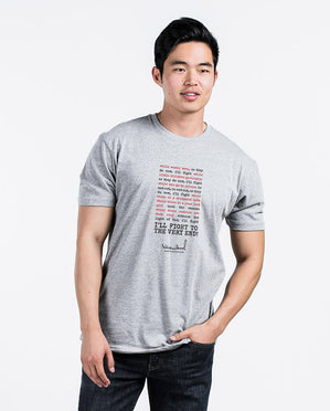 I Will Fight Unisex Triblend Short Sleeve Tee
