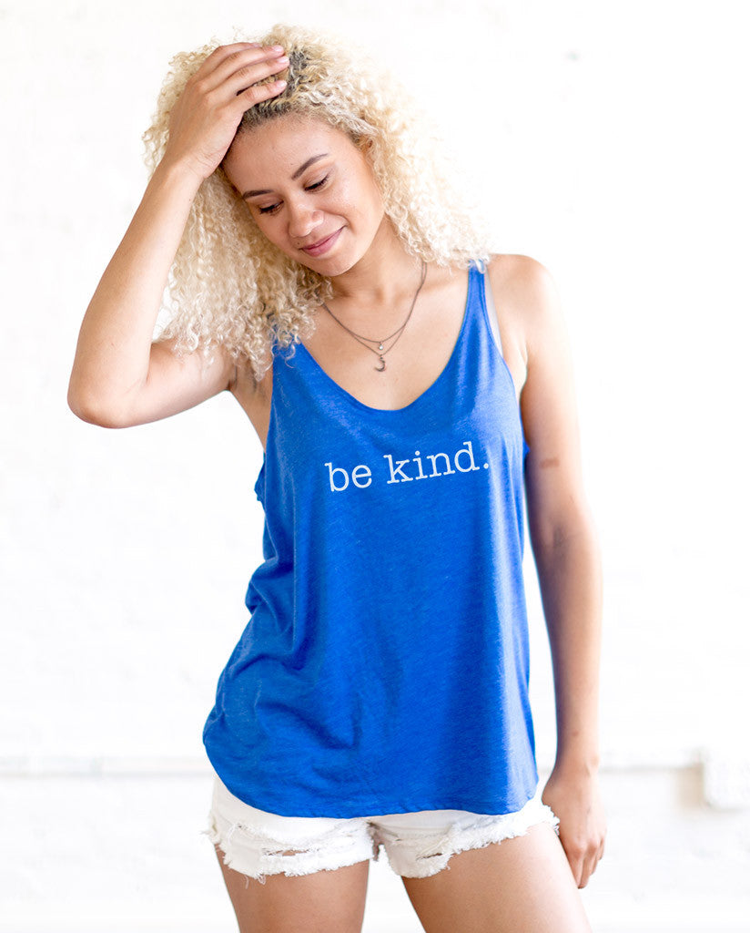Be Kind Womens Racerback Tank