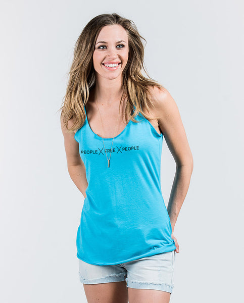 PEOPLE FREE PEOPLE Womens Racer-back Tank