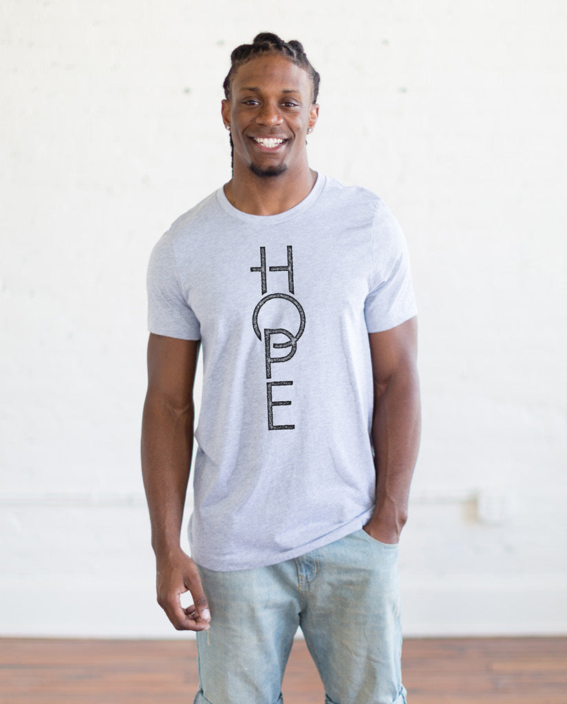 Hope Unisex Triblend Short Sleeve Tee