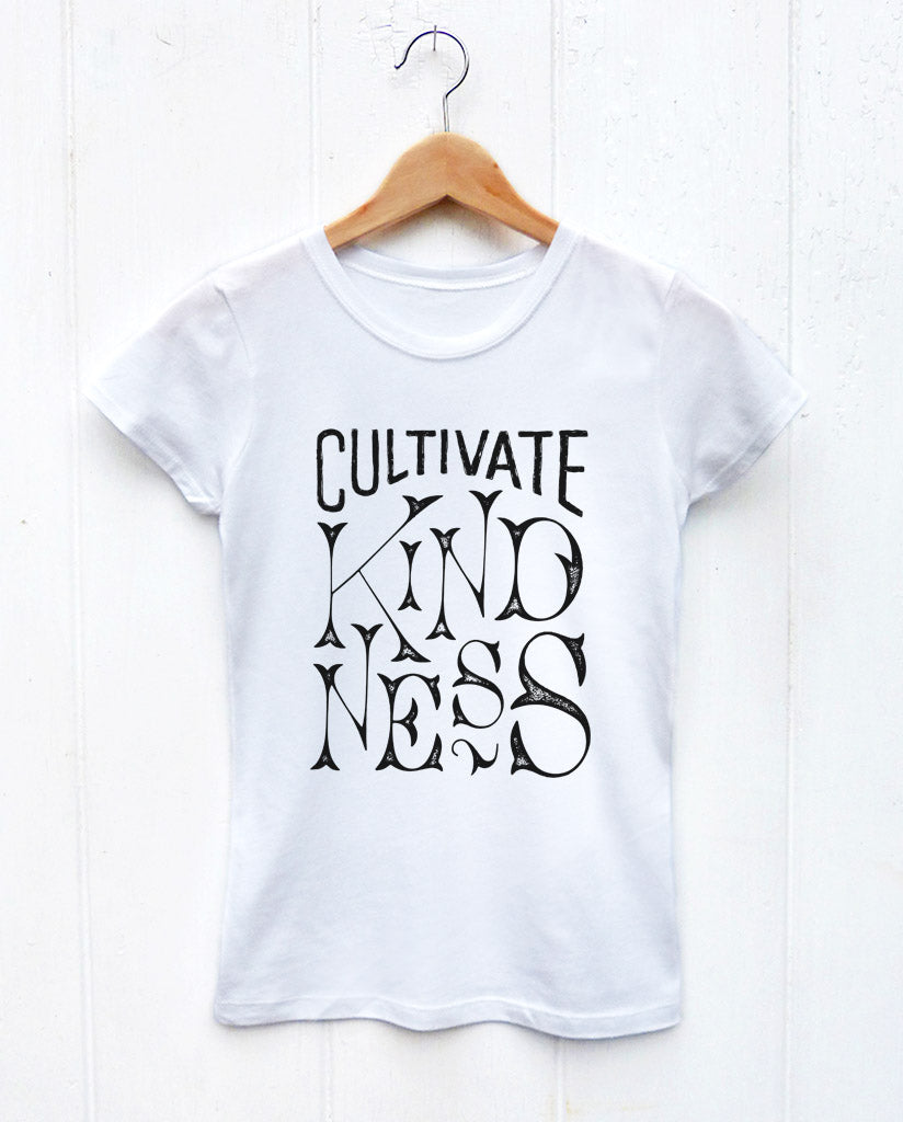 Cultivate Kindness Girls Princess Tee