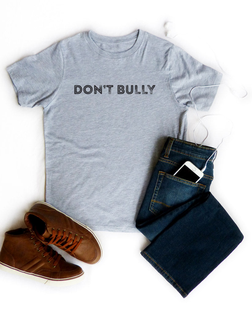 Don't Bully Boy's Cotton Crew