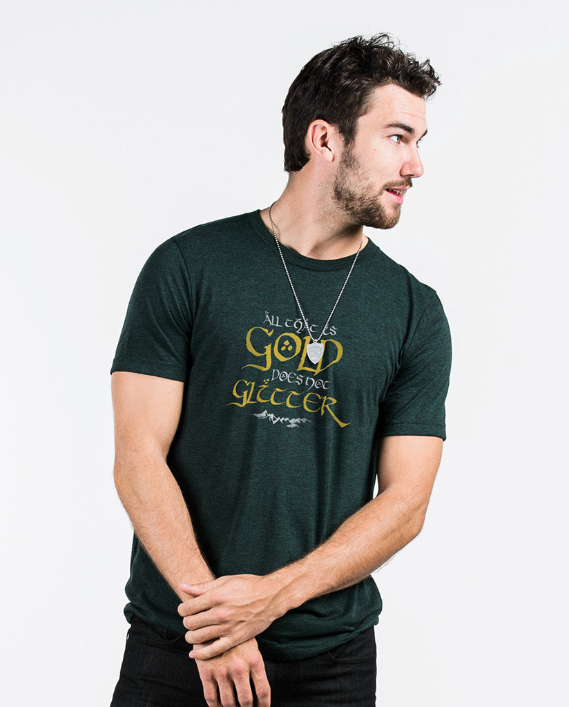 ALL THAT IS GOLD Unisex Triblend Short Sleeve Tee