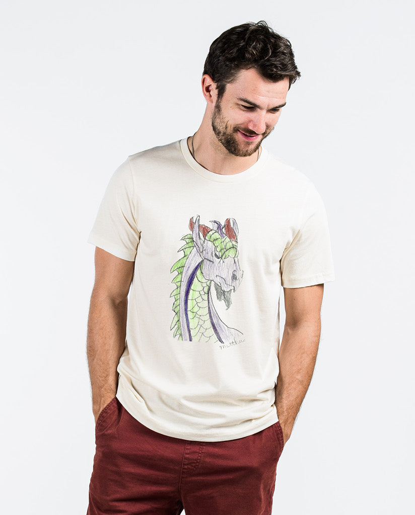 DRAGON Unisex Natural Tee