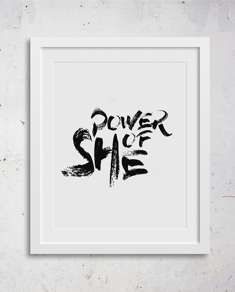 POWER OF SHE Wall Art