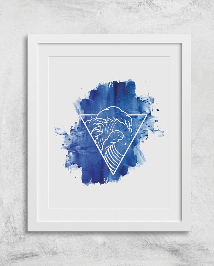 OCEAN TRIANGLE Wall Art
