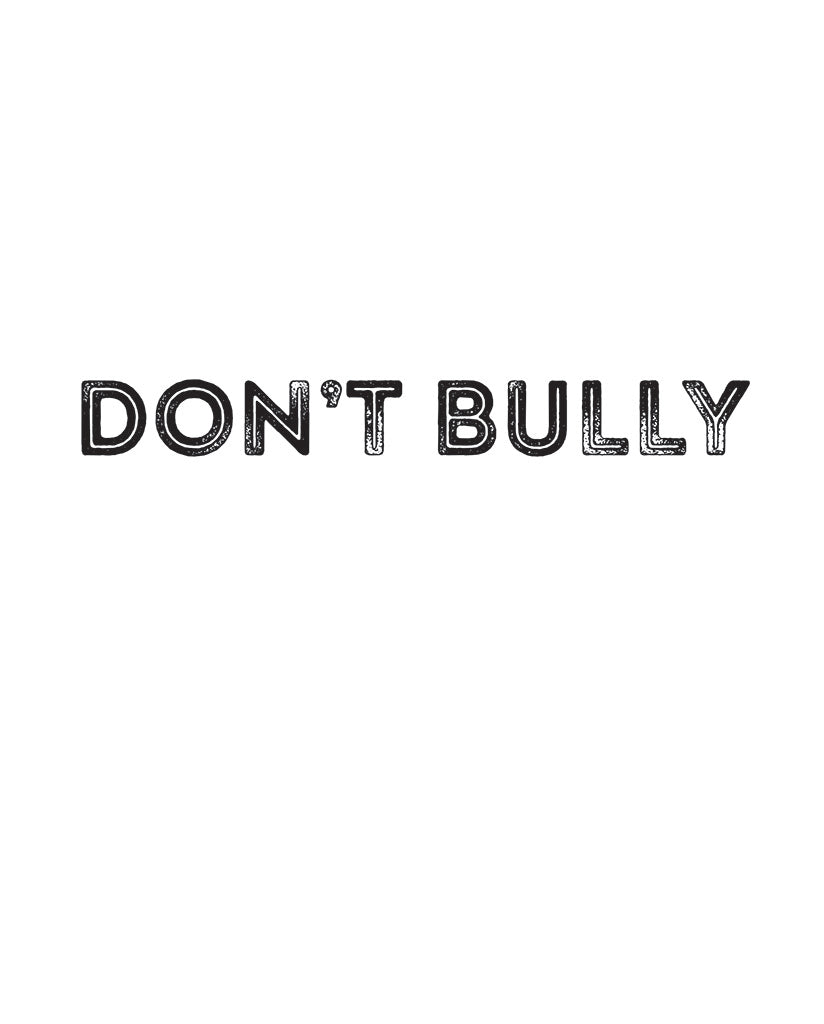 Don't Bully Unisex Triblend Short Sleeve Tee