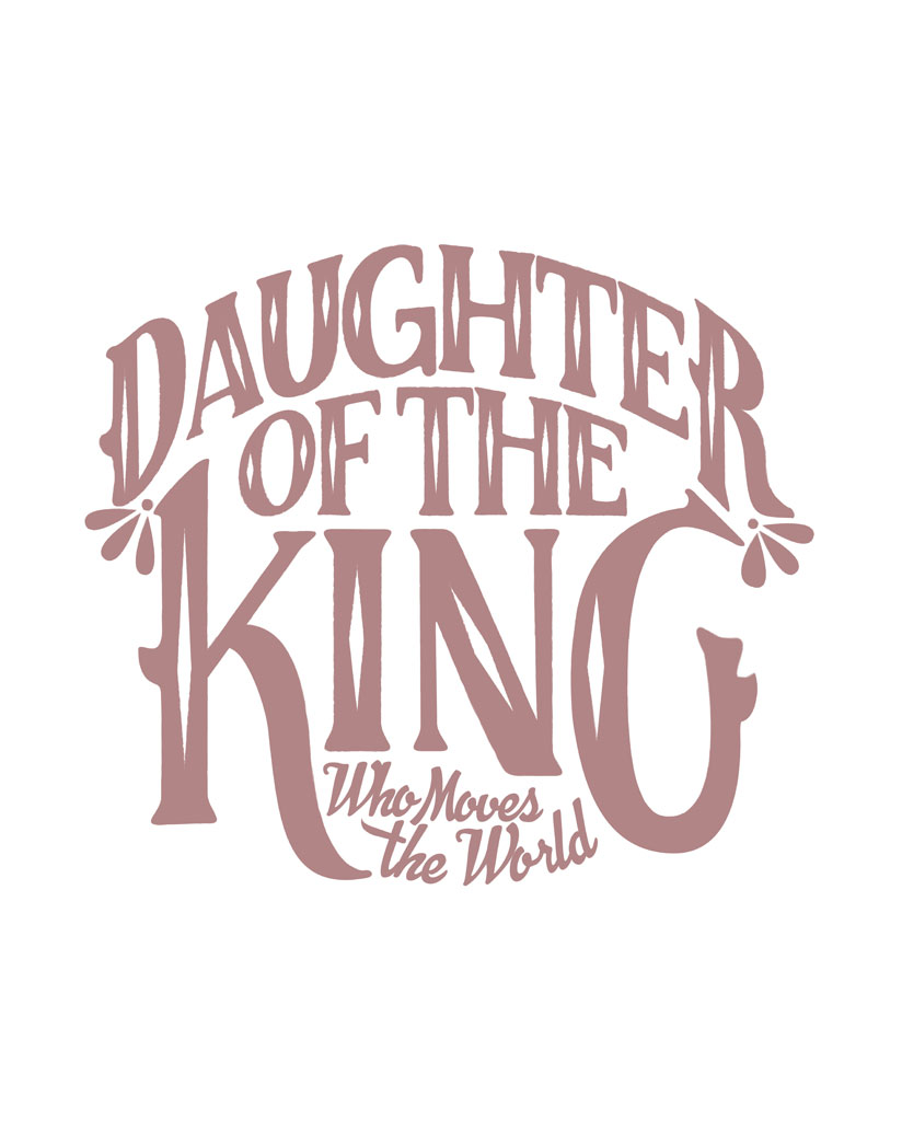 DAUGHTER OF THE KING Womens White Flowy Raglan