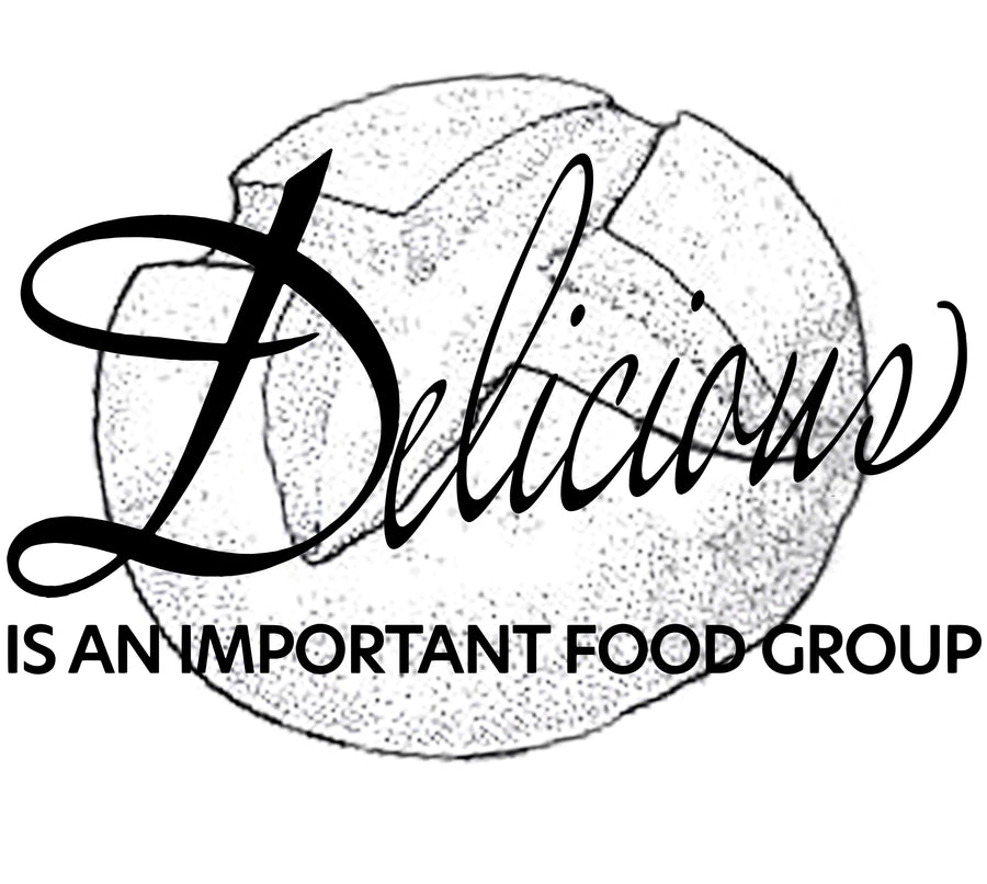 Delicious Is An Important Food Group Sourdough Unisex Triblend Short Sleeve Tee
