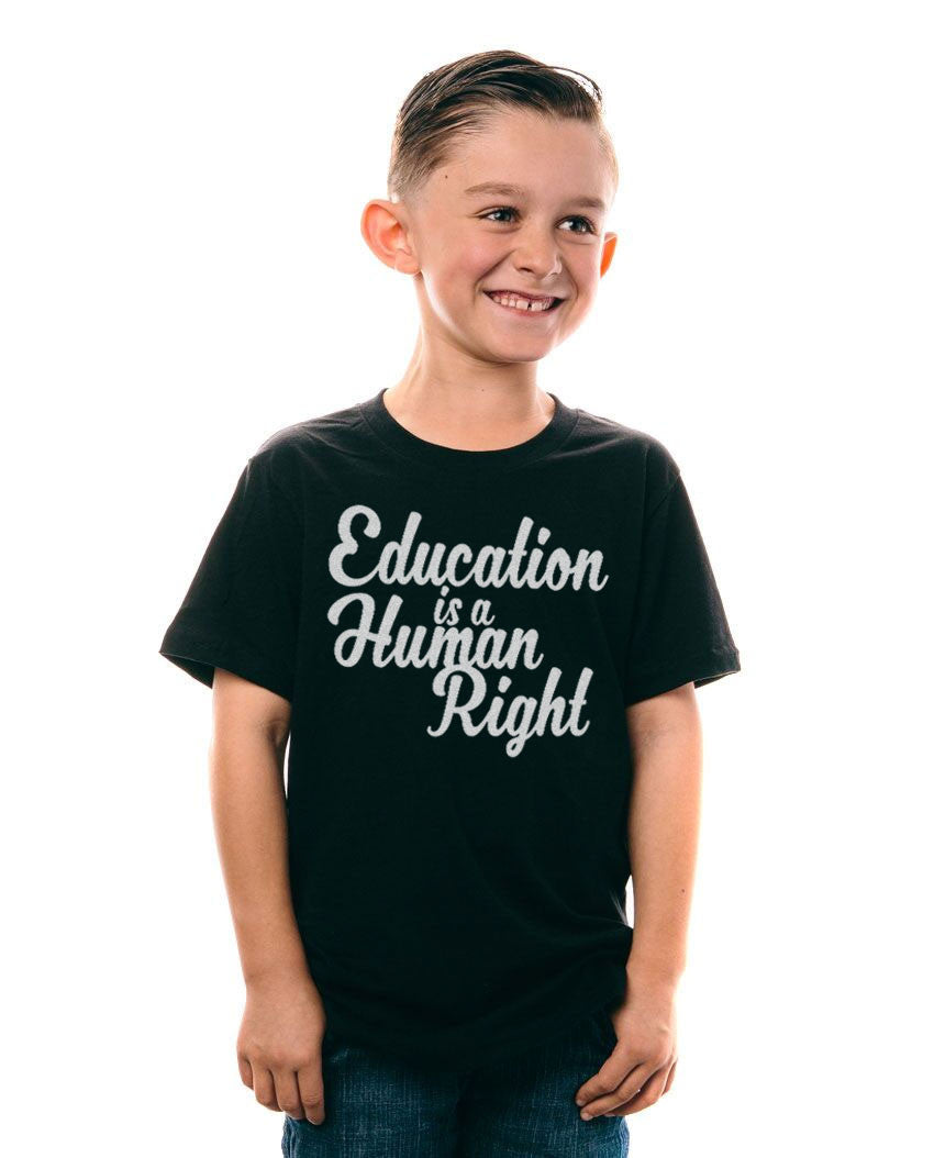 Education Is A Human Right Kids Tee