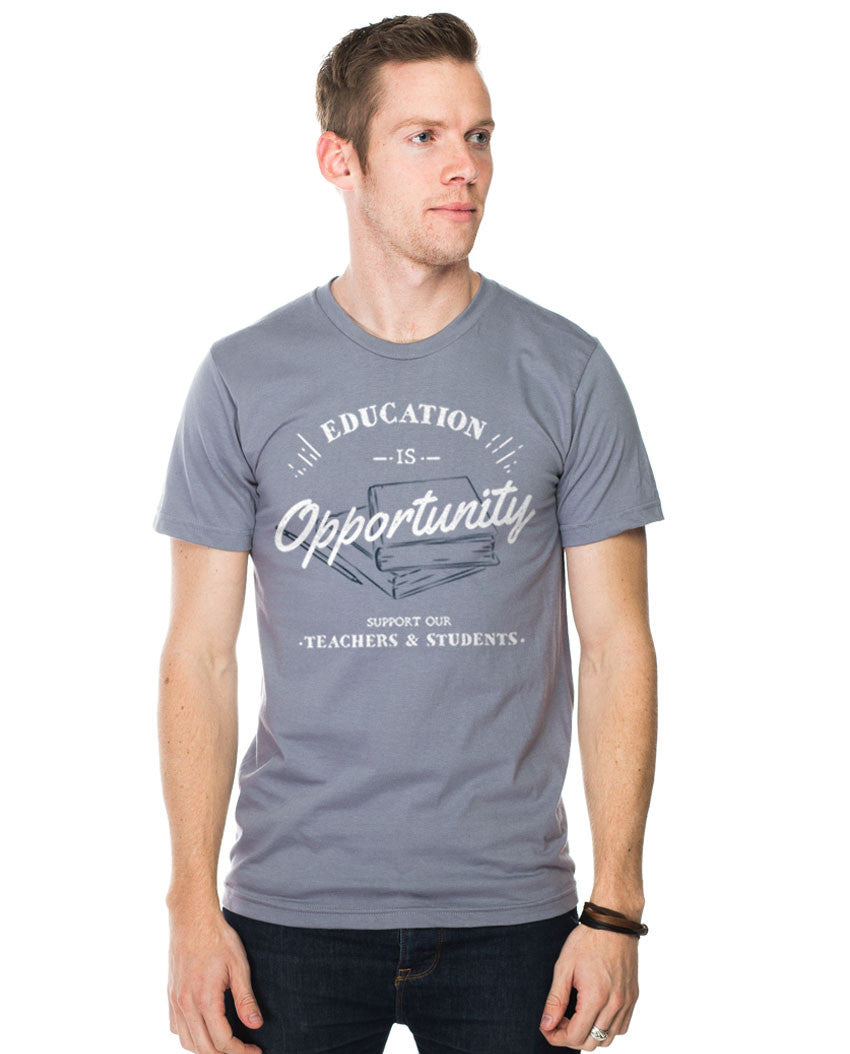Education Is Opportunity Fitted Tee