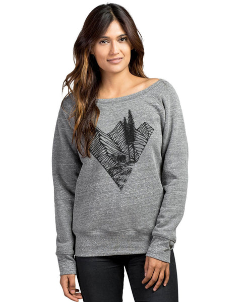 Elk Mountain Slouchy Sweatshirt