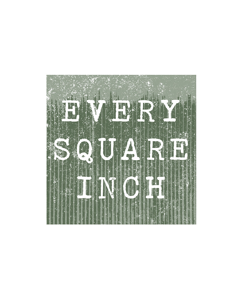 EVERY SQUARE INCH - Men's Cotton Poly Charcoal Grey Pullover Hoodie