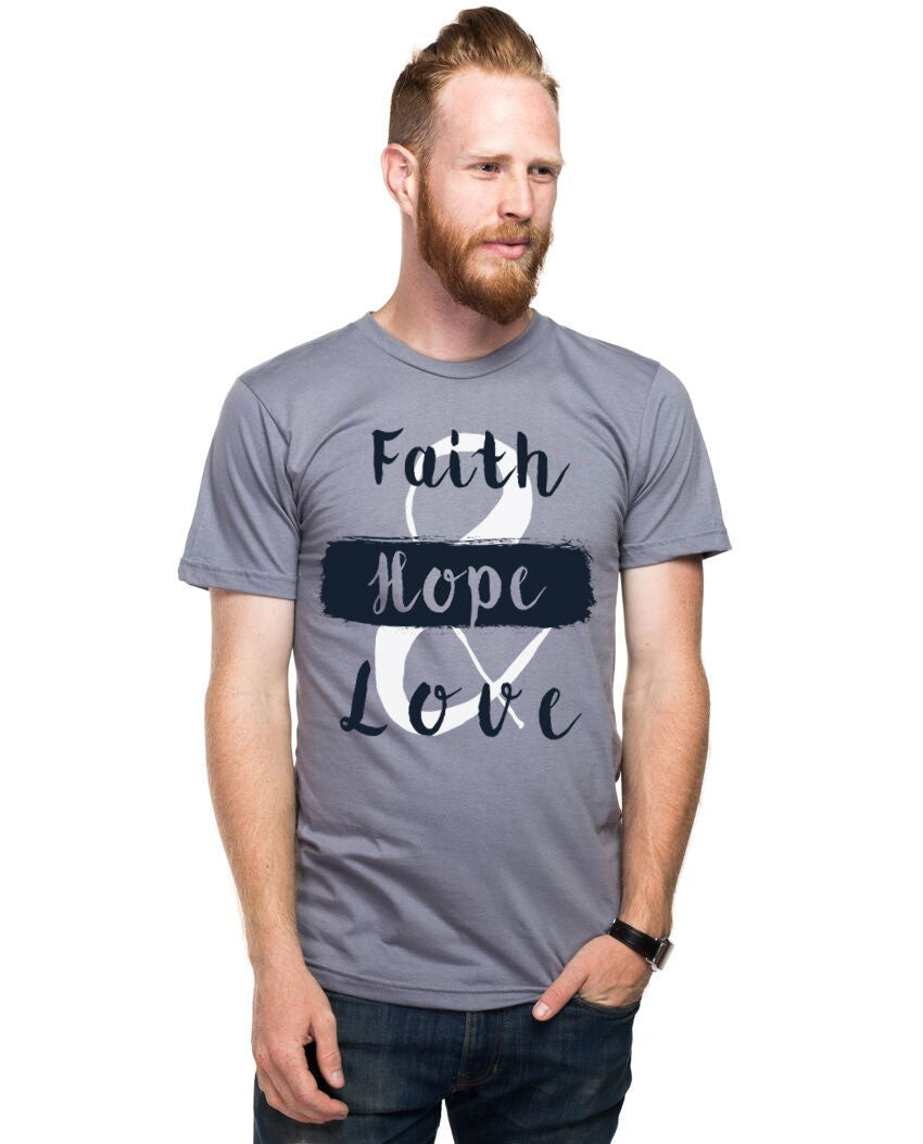 Faith Hope and Love Fitted Tee