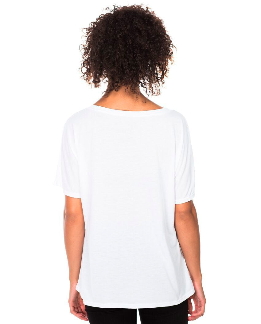 Fearlessly Authentic Flowy V Neck