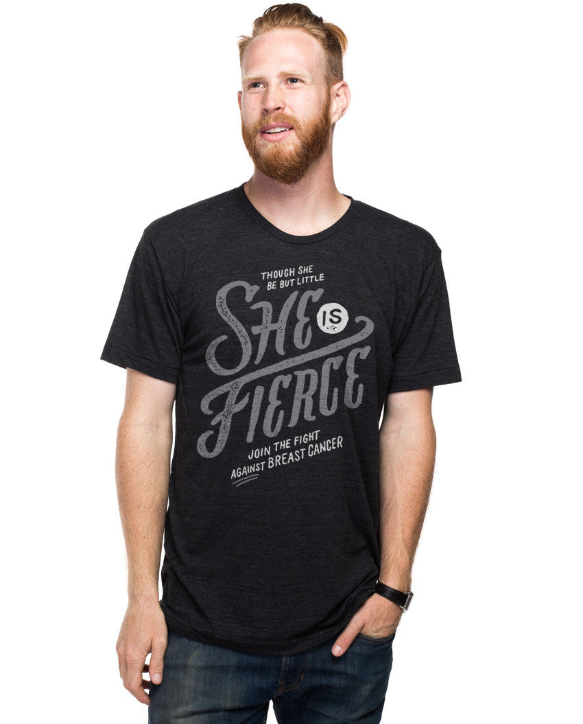 She Is Fierce Fitted Tee