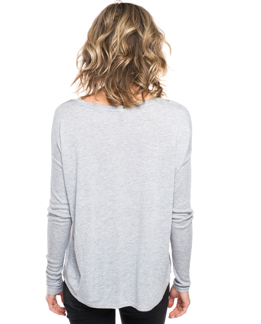 Be The Change Flowy Long Sleeve Tee