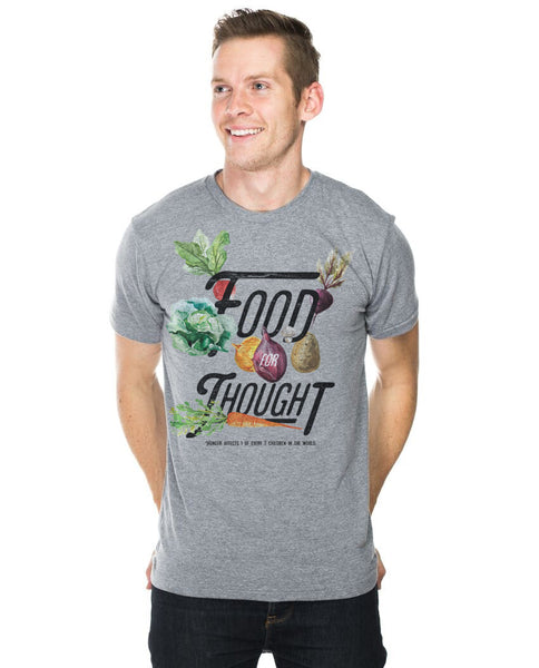 Food For Thought Fitted Tee