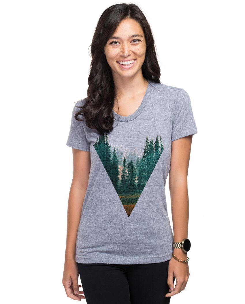 Forest Triblend Short Sleeve Tee