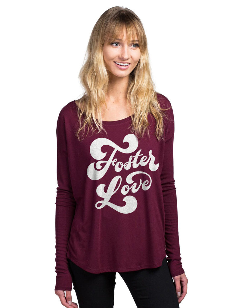 Foster Love Flowy Long Sleeve Tee
