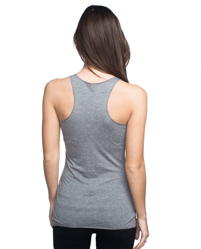 Free To Live Triblend Racerback Tank