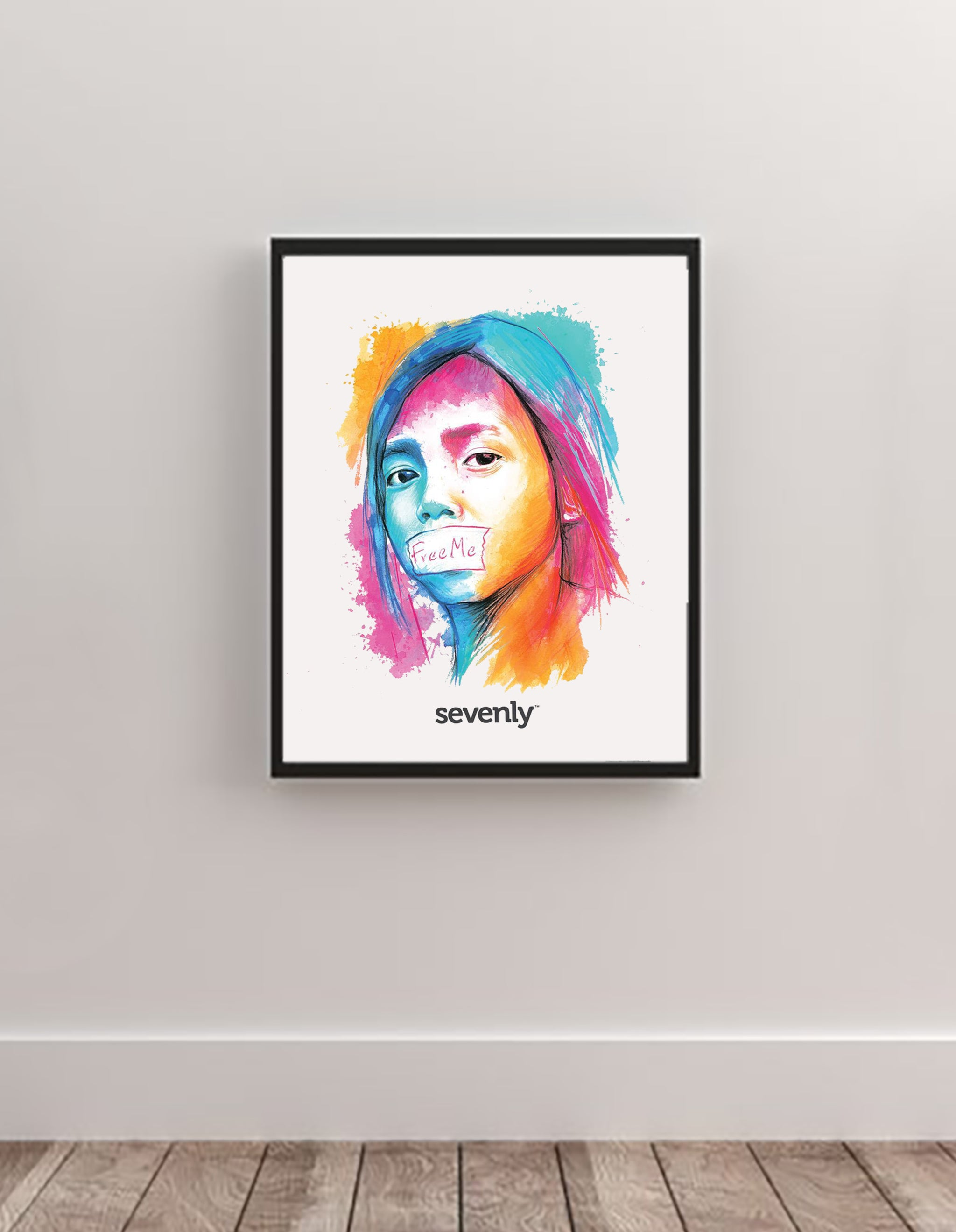 Sevenly - Wall Art - Free Me