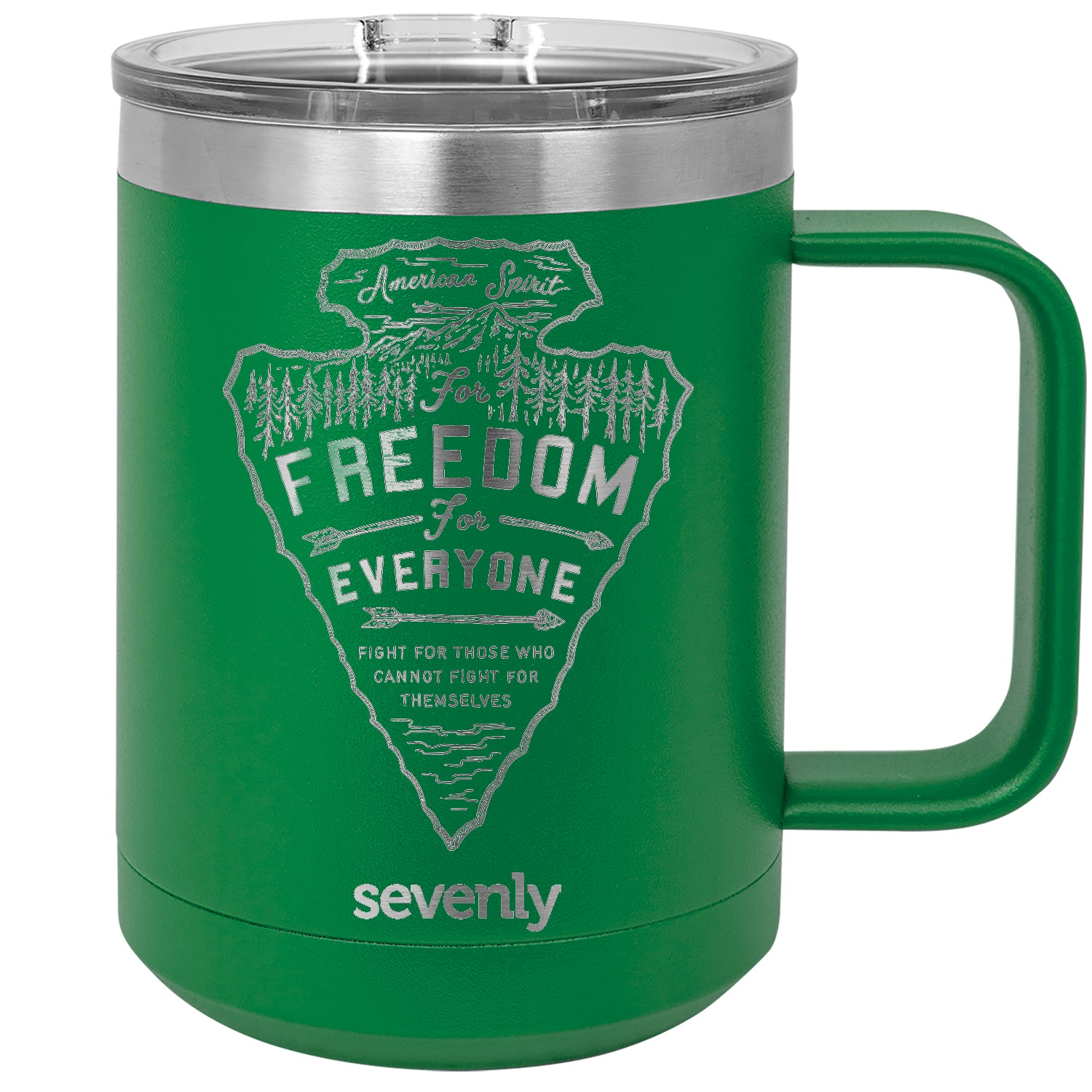 Freedom For Everyone Arrowhead Insulated Mug Drinkware