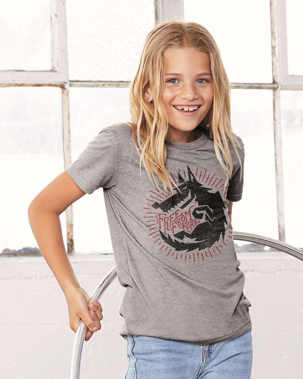 Free From Fear Wolf Premium Classic Tee For The Family