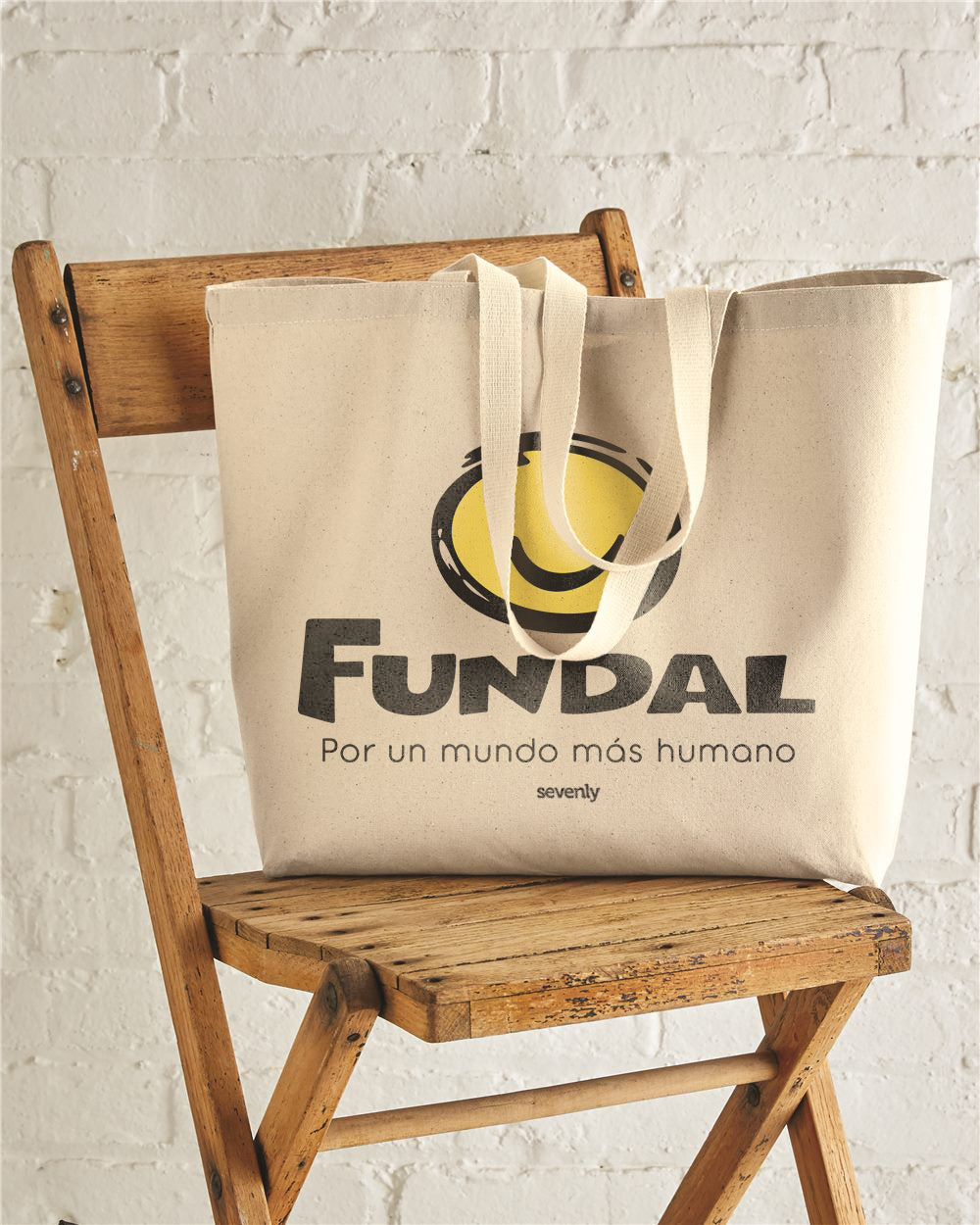 FUNDAL Jumbo Cotton Canvas Tote Bag
