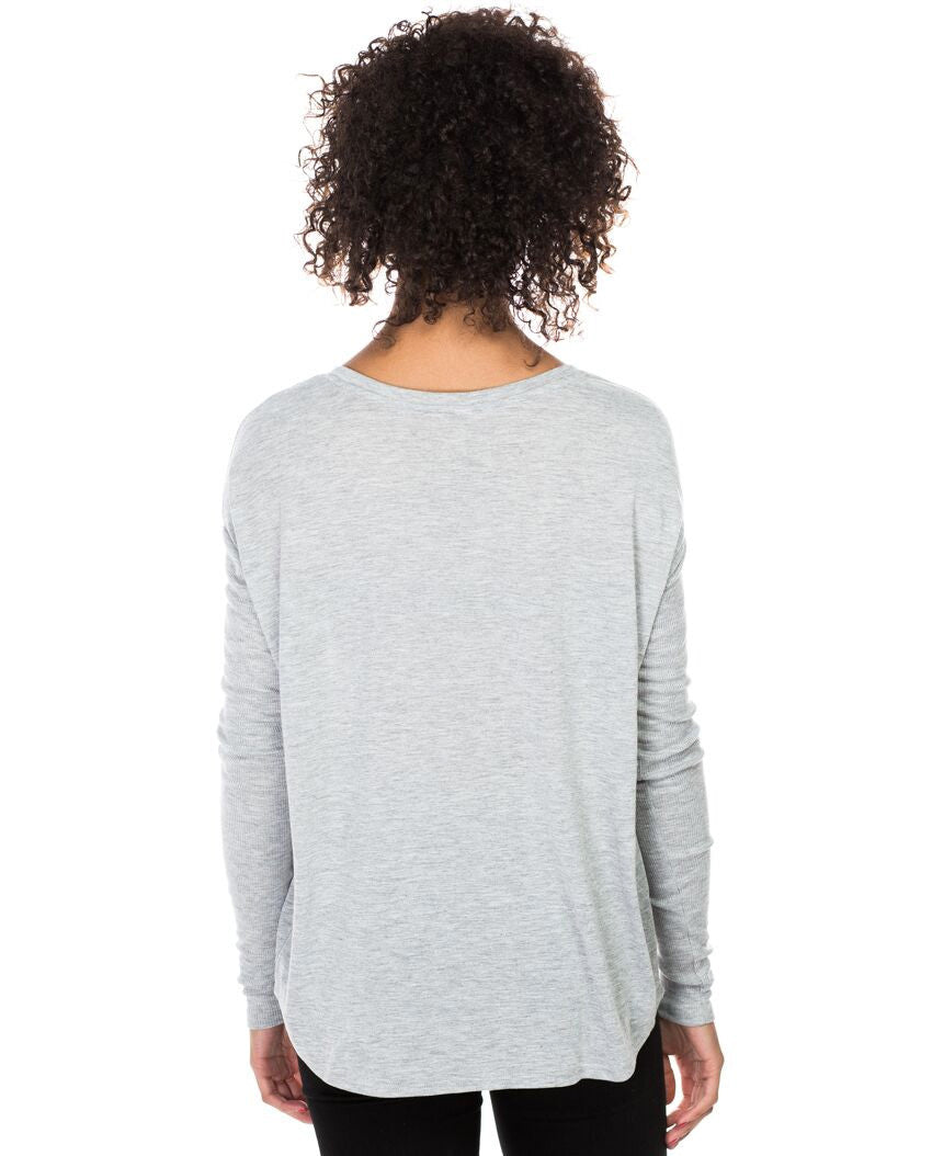 Give A Lifeline Flowy Long Sleeve Tee