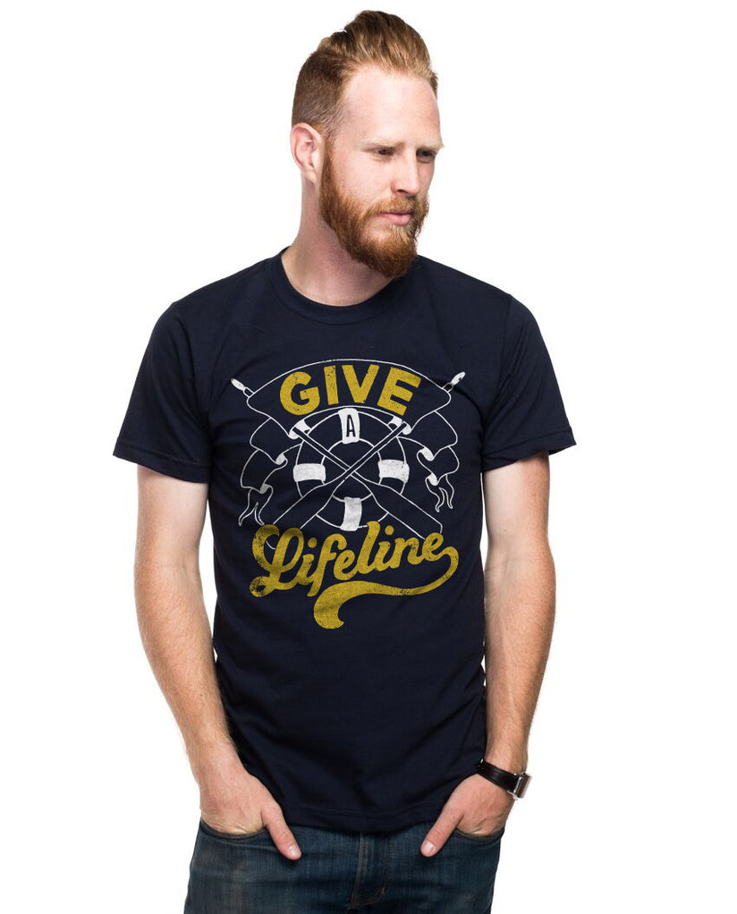 Give A Lifeline Fitted Tee