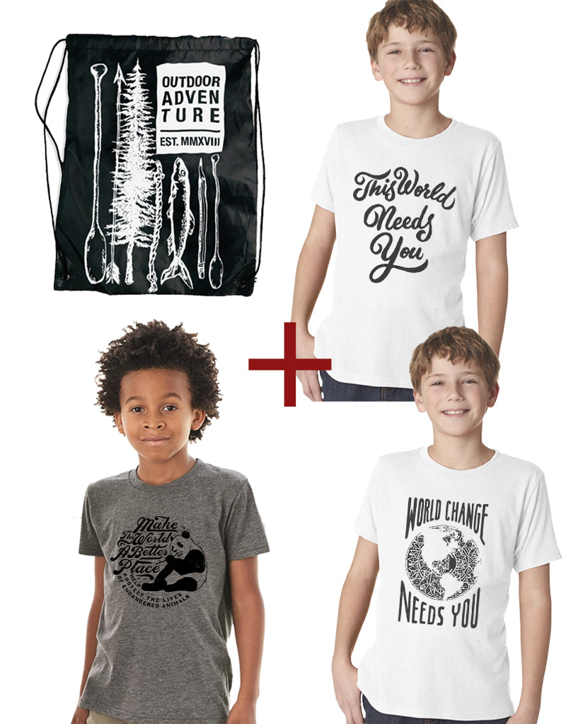 Earth Day 2020 Give Bag For The Family - Printed In The USA!!!