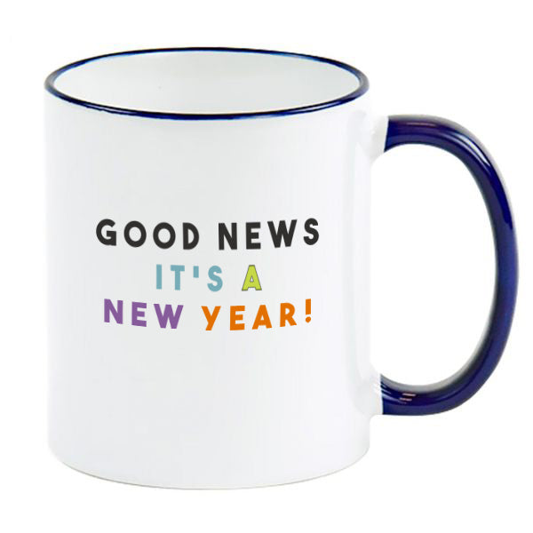 SGN Good News It's A New Year! Special Holiday 2020 Coffee Mug