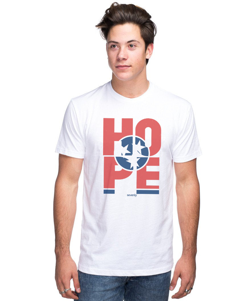 HOPE Tennessee Unisex Premium Crewneck Tee For The Family