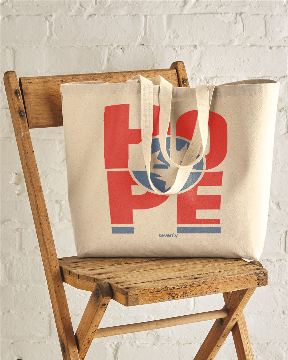 HOPE Tennessee Jumbo Cotton Canvas Tote Bag