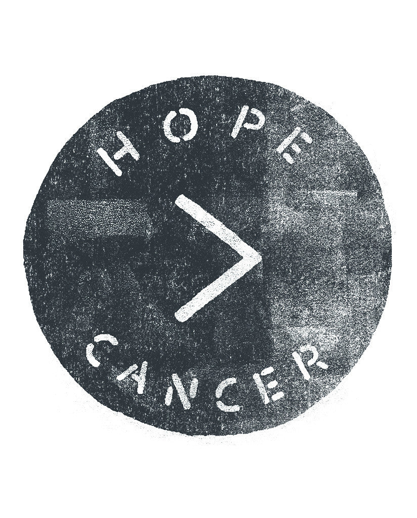 Hope > Cancer Womens White Muscle Tank