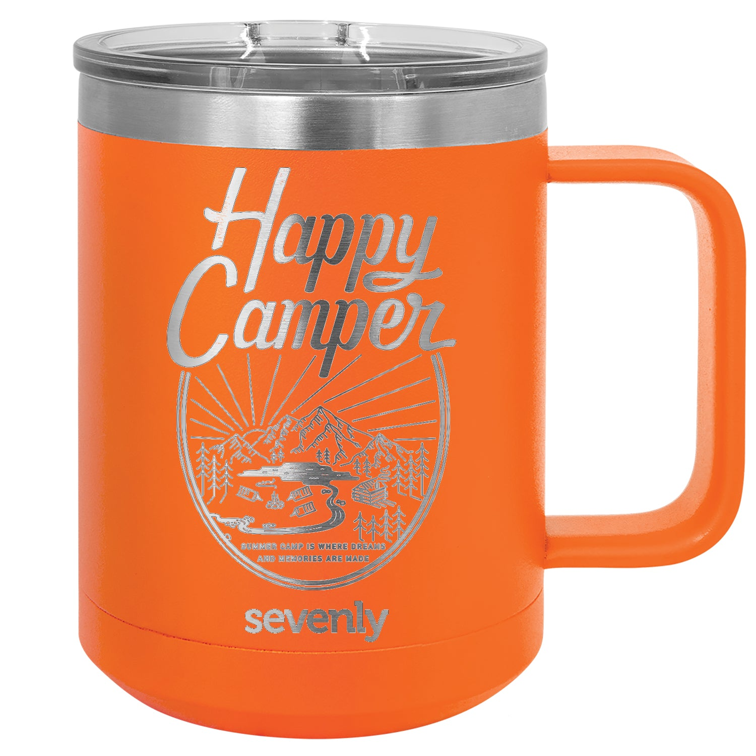 Happy Camper Insulated Mug Drinkware