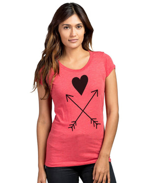 Heart Warriors Triblend Short Sleeve Tee