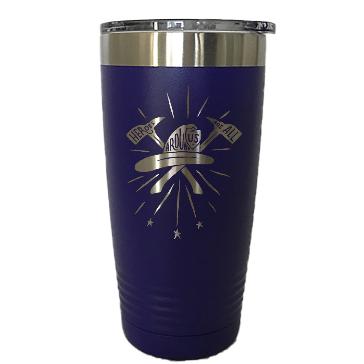 Heroes All Around - Tumbler Drinkware