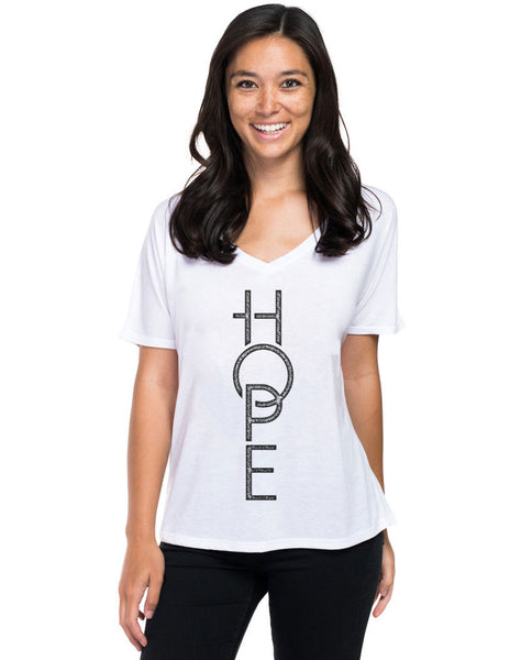 Hope Flowy V Neck