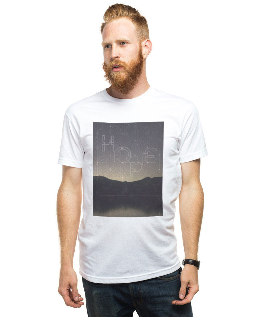Hope Sky Fitted Tee