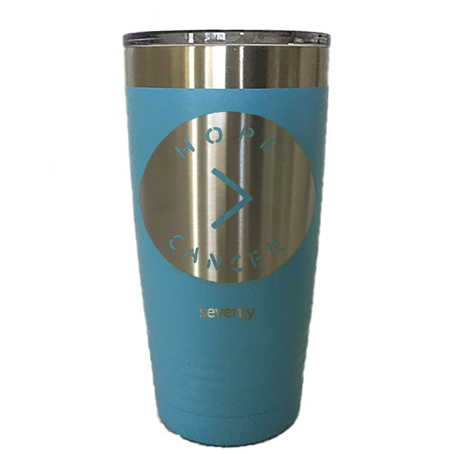 Hope Is Greater Than Cancer Tumbler Drinkware