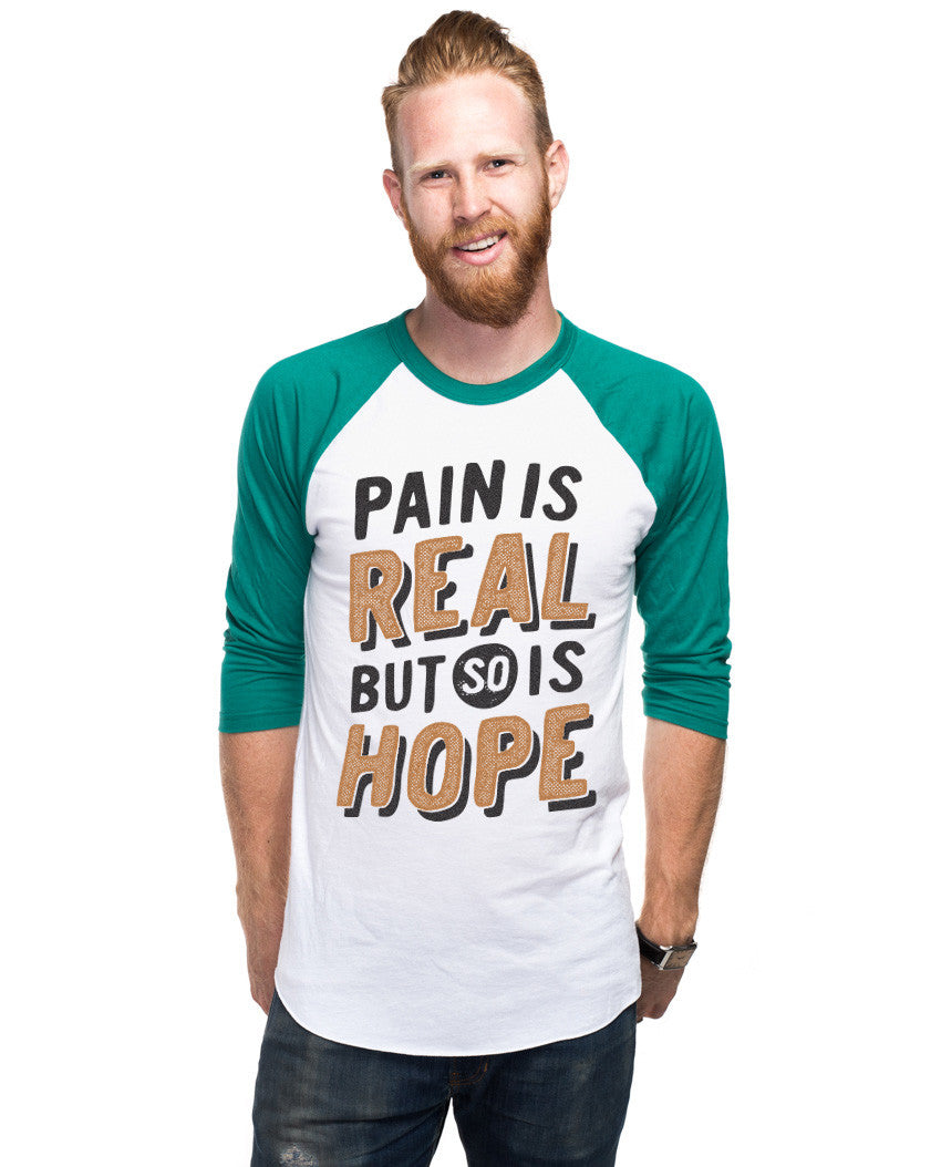 Hope Is Real Unisex Baseball Tee