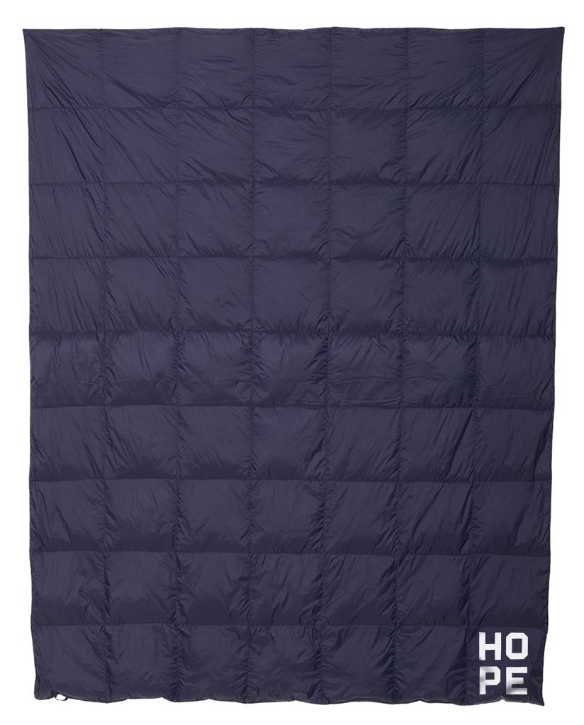 HOPE Weatherproof Down Puffer Packable Blanket