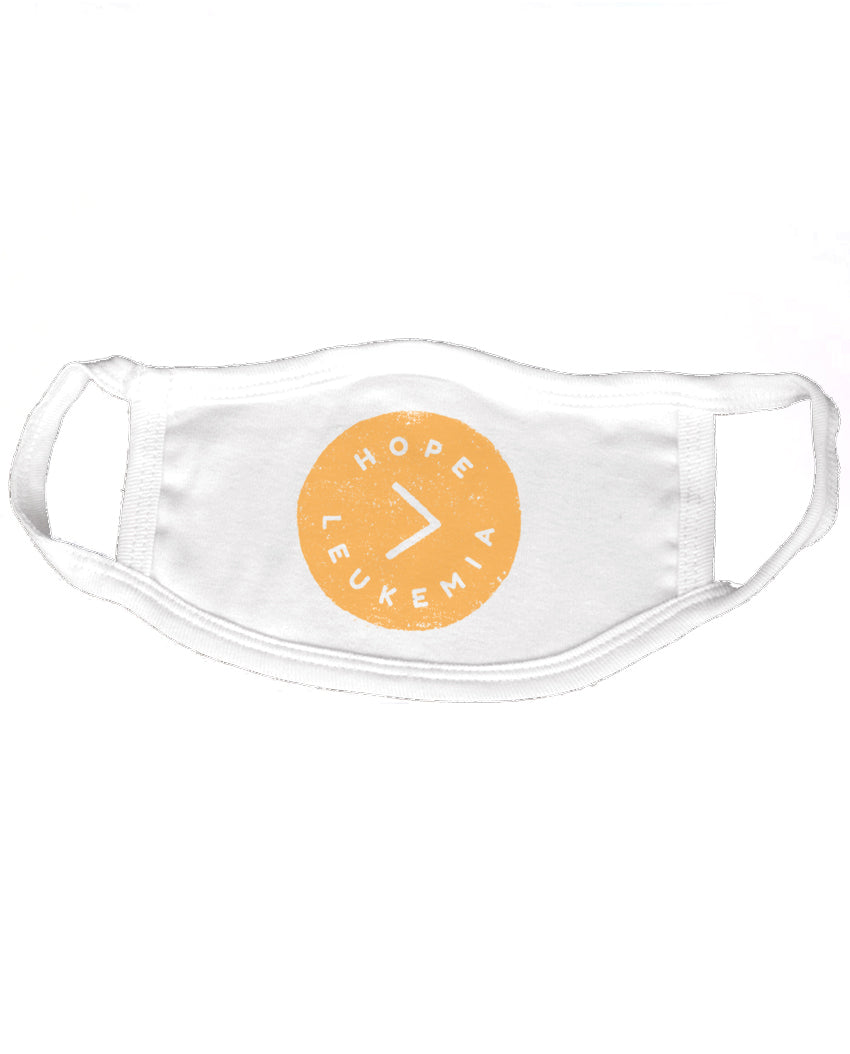 Hope > Leukemia Reusable 2-ply Cotton Mask ($2 to $1 Match)