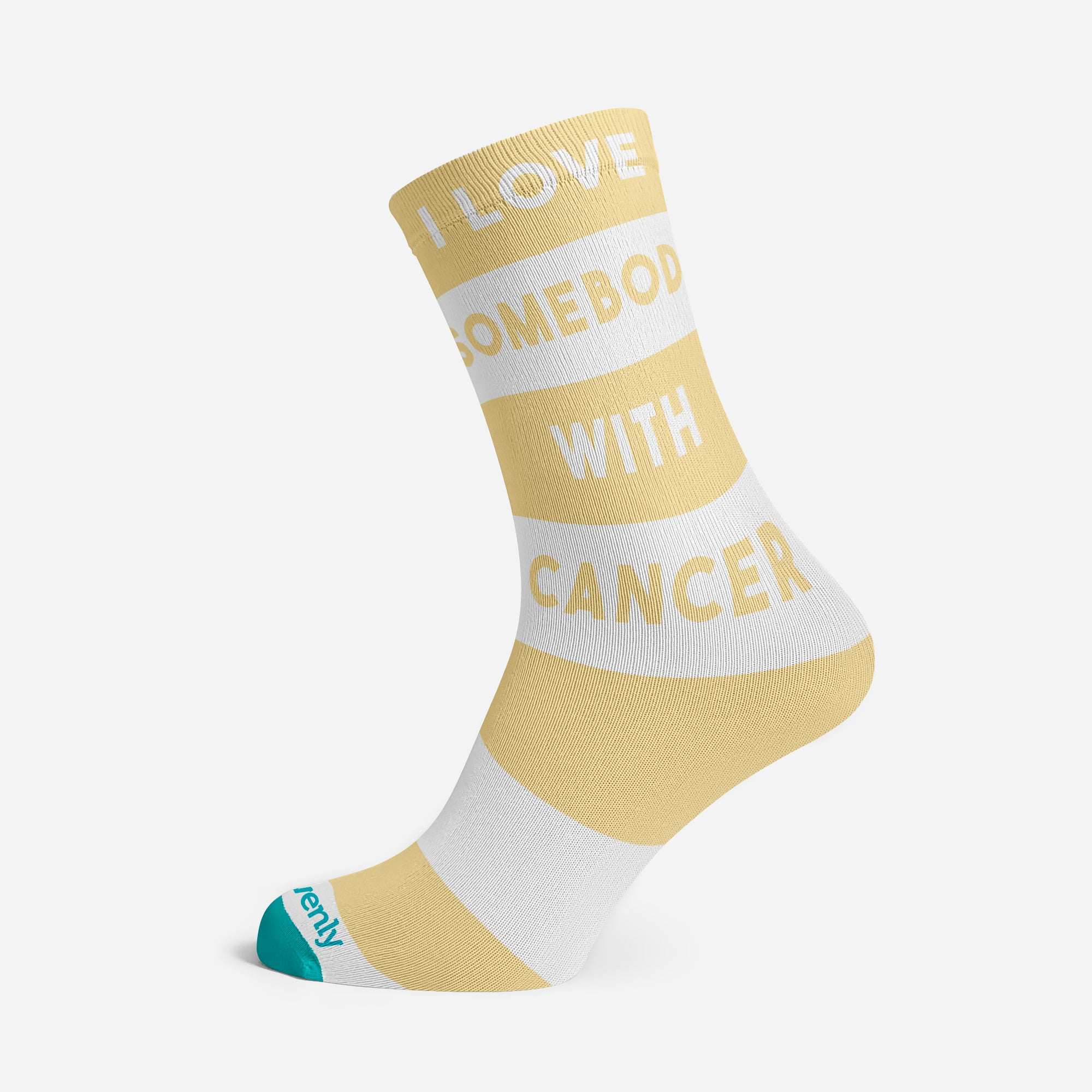 I LOVE SOMEONE WITH CANCER PREMIUM SOCKS FOR THE FAMILY
