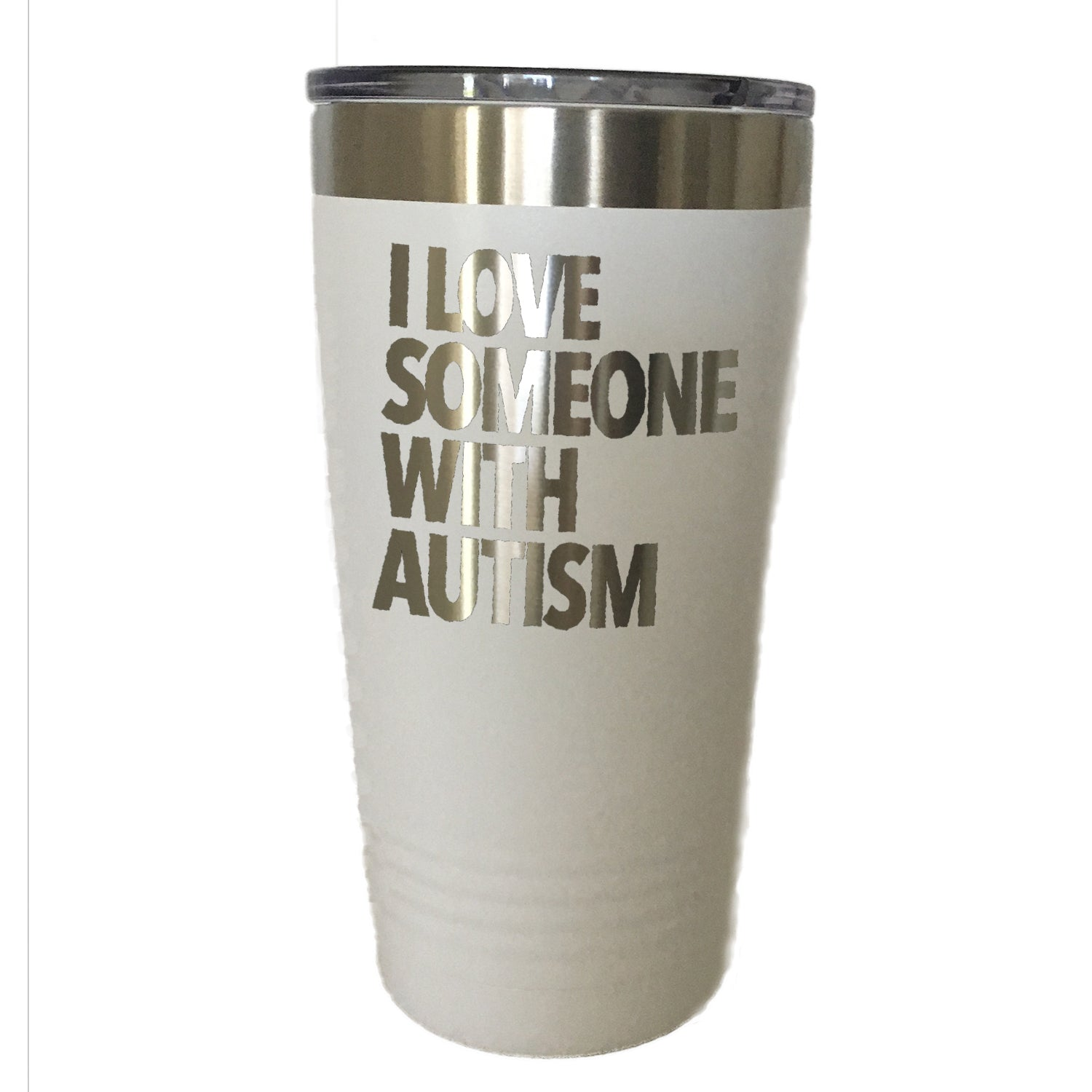 I Love Someone With Autism - Tumbler Drinkware
