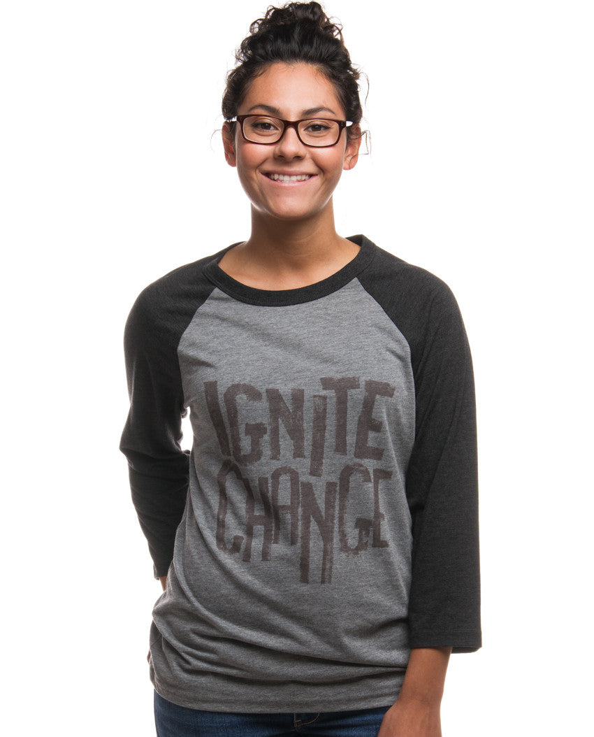 Ignite Change Unisex Baseball Tee